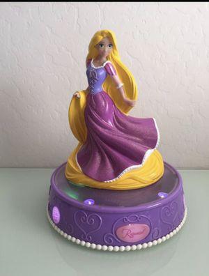 Disney Princess tangled rapunzel lights and sound bank room decor for Sale in Avondale, AZ