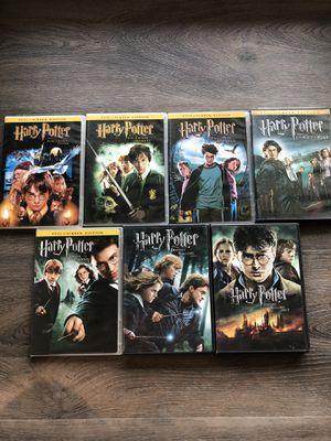 7 Harry Potter DVDs for Sale in Clovis, CA