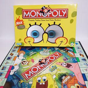 Monopoly Spongebob Squarepants 2005 Edition Board Game for Sale in La Grange, IL