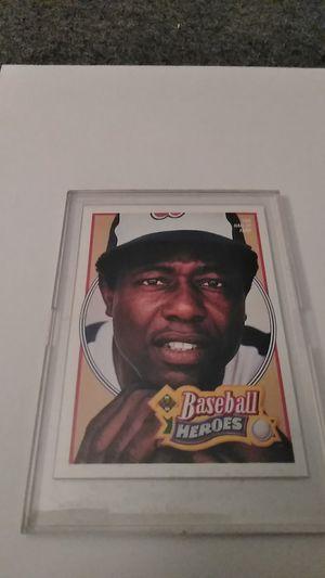 Upper Deck *Baseball Heroes Card #26 *Hank Aaron for Sale in Shelton, CT