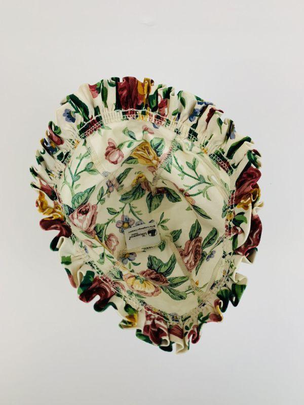 Longaberger Ambrosia Booking Basket Liner in Garden Splendor