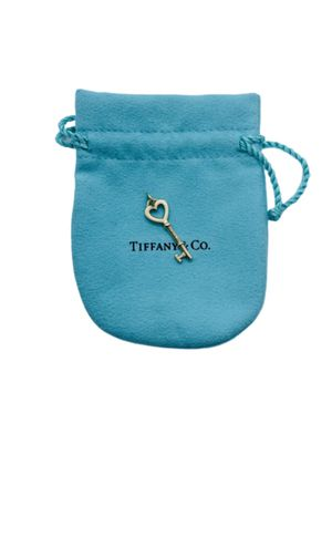 18k Tiffany and Co Rose Gold Key mini pendant for Sale in Alexandria, VA