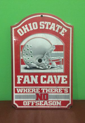 Ohio State Buckeyes Fan Cave Wood Sign NEW for Sale in Cleveland, OH