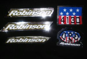 Robinson GT BMX Decal Stickers for Sale in Bell Gardens, CA