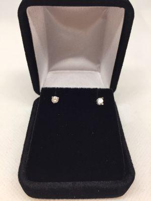 14 K Diamond studs 0.19 CT's for Sale in Dallas, TX
