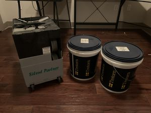 Silent Partner Tennis Ball Machine and 180 practice balls for Sale in Dallas, TX