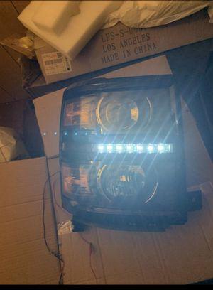 14-15 Silverado headlights for Sale in Baldwin Park, CA