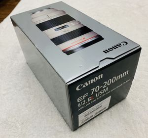NEW Canon EF 70-200mm f/2.8 L USM Lens USA Model Sealed in Box FIRM PRICE for Sale in Anaheim, CA