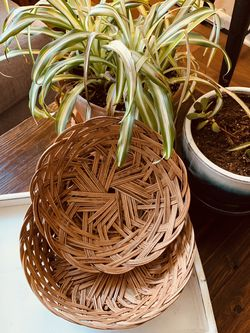 set of wall baskets | rust&rue for Sale in Denver,  CO