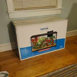 29 Gallon Topfin Aquarium Starter Kit for Sale in Ellicott City, MD