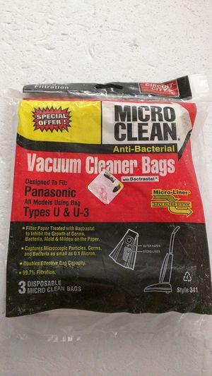 Vacuum cleaner bags for Panasonic Type U/U3 for Sale in Vallejo, CA