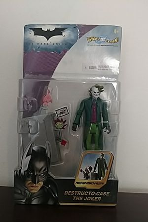 Destucto-case Joker Collectible action figure for Sale in Howell, NJ