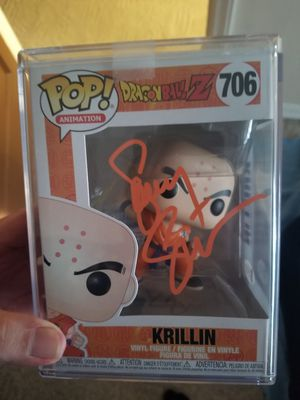 Dragon ball Z pop signed for Sale in El Paso, TX