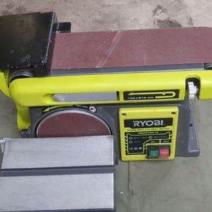 Ryobi Belt/disc sander 4x36 (bd4601g) for Sale in Glendale, AZ