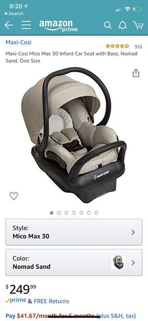 Maxi cosi car seat for Sale in Green Bay, WI