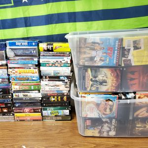 Lot 365 DVD Movies Collection And Seasons, Singles with Some BlueRay for Sale in Federal Way, WA