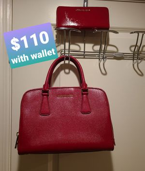 Michael Kor authentic purse with matching wallet for Sale in Rockville, MD
