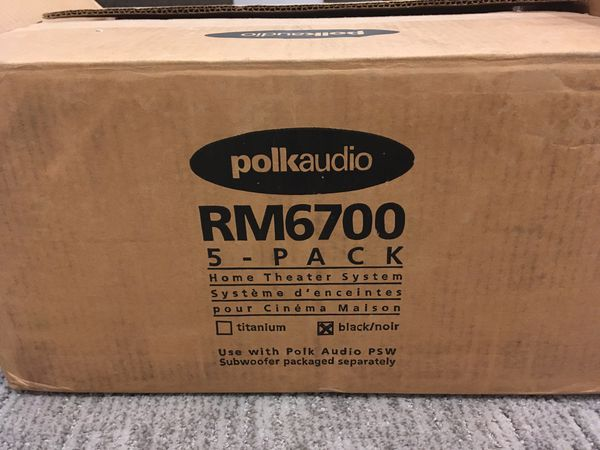 Polk Audio RM6700 5 piece speaker system