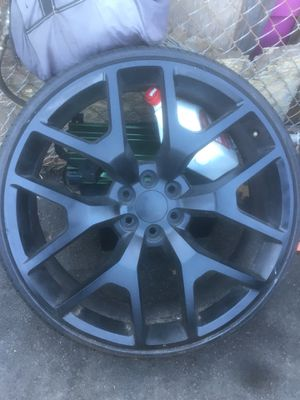 26's rims GMC for Sale in Los Angeles, CA