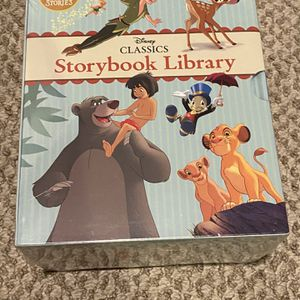 Disney Classic Story Book Library- Set of 12 books for Sale in Germantown, MD