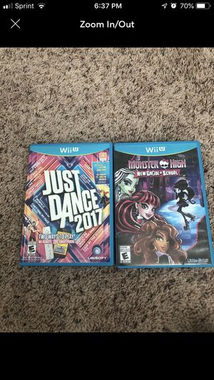 Nintendo Wii U Games for Sale in Fayetteville, NC