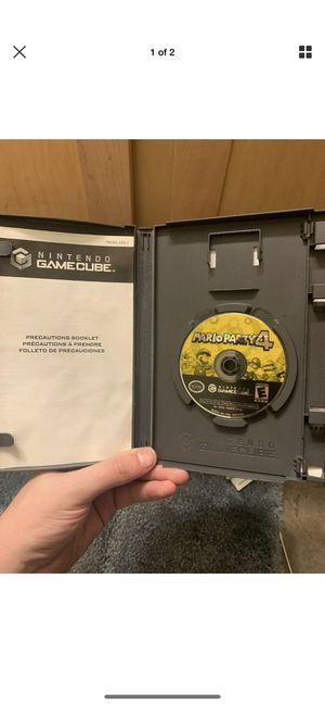 Mario Party 4 (Nintendo GameCube, 2002) Game Disc Only for Sale in Columbus, OH