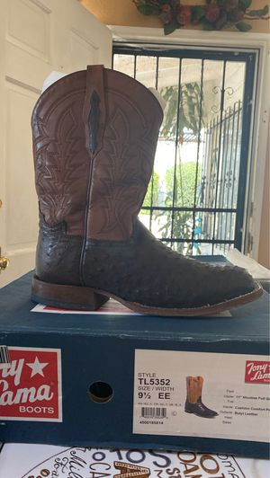 Tony lama boots size 9.5 for Sale in South Gate, CA