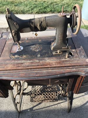 Standard sewing machine with cabinet for Sale in Cranston, RI