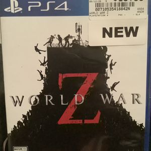 WORLD WAR Z - Good condition for Sale in Oklahoma City, OK