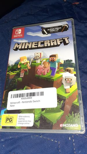 Minecraft Nintendo switch for Sale in Fairview, TN