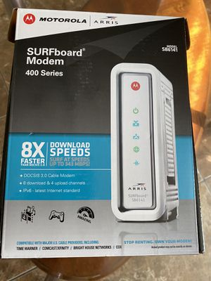 Modem Surfboard 400 series for Sale in Tolleson, AZ