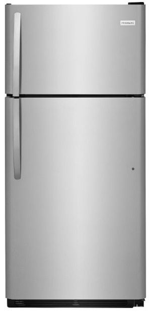 Frigidaire Top Freezer Refrigerator in Stainless Steel for Sale in Los Angeles, CA