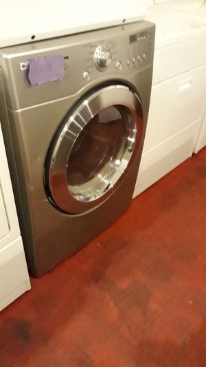 Lg stainless steel dyer excellent condition 4months warranty for Sale in Arbutus, MD