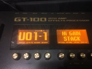 BOSS GT100 GUITAR EFFECTS for Sale in Takoma Park, MD