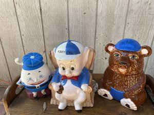Vintage cookie jars for Sale in Fresno, CA