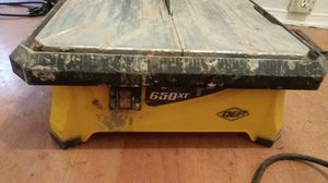 All together works just dont need with 650xt tile cutter for Sale in Hamtramck, MI