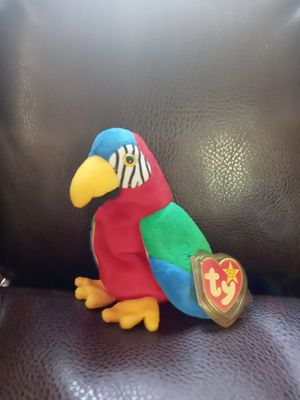 **Rare w/ Tag Errors**Jabber the Parrot Original Beanie Baby for Sale in Creedmoor, NC
