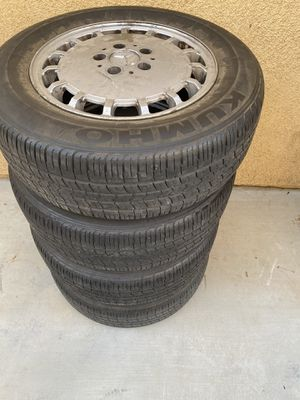 Mercedes wheels and tires for Sale in Riverside, CA