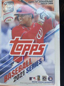 Topps Baseball Cards Blaster Box. (7 Packs) for Sale in Anaheim,  CA