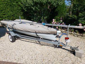 Laser Vago 2 person sailboat for Sale in Denville, NJ