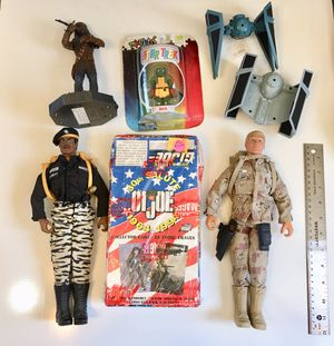 Star Wars Chewbacca G.I. Joe Collector Cards and Action Figures for Sale in San Jose, CA