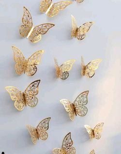 12 pc butterfly Decor for Sale in Monrovia,  CA