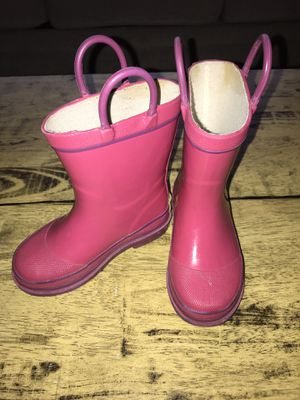 Toddler Girl Size 7 Western Chief rain boots for Sale in Woodinville, WA