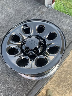 "17"" Chevy PPV steel rims for Sale in Norfolk, VA"