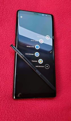 SAMSUNG Galaxy Note 8, Unlocked, Excellent condition, Works any Company Sim,Any Country. for Sale in Springfield,  VA