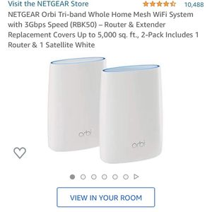 Orbi Home Mesh WiFi System for Sale in Plano, TX