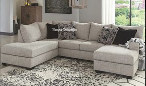NEW IN THE BOX, HOT SELLER, BIG SIZE U SECTIONAL, IN STOCK NOW. for Sale in Huntington Beach, CA