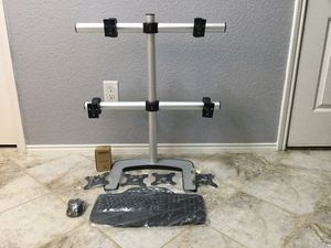 """""""VISIDEC"""" Freestanding 4 Monitors mount for Sale in Wylie, TX"""