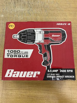 BAUER CORDED IMPACT WRENCH 1882E-B for Sale in Bloomington, CA