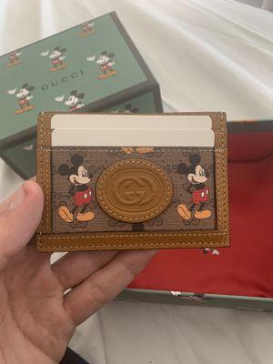 Gucci x Disney cardholder/ wallet for Sale in Oak Harbor, WA